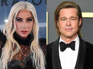 Lady Gaga Beradu Akting Dengan Brad Pitt di `Bullet Train` Mendatang